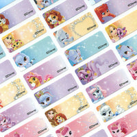 Princess Pet Character Small Name Labels