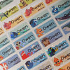 Finding Dory Character Small Name Stickers