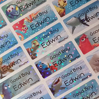 Finding Dori Character Labels
