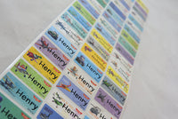Planes Character Medium Name Stickers