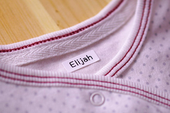 Iron On Small Clothing Labels