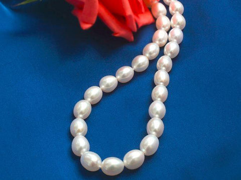 Yangtze Store 7-8 mm Freshwater Knotted Pearl Necklace White PEARL115