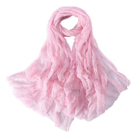 Yangtze Store Luxurious Extra Wide 100% Cashmere Scarf & Wrap Pink Color Plaid Print CSH236
