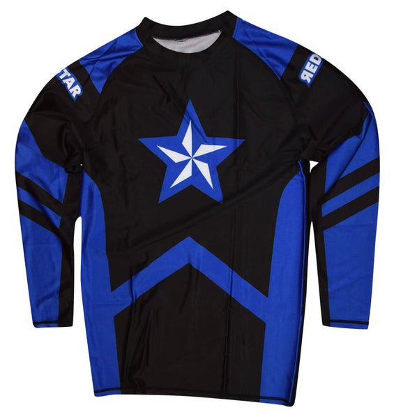 Rashguard Blue Belt Long Sleeve