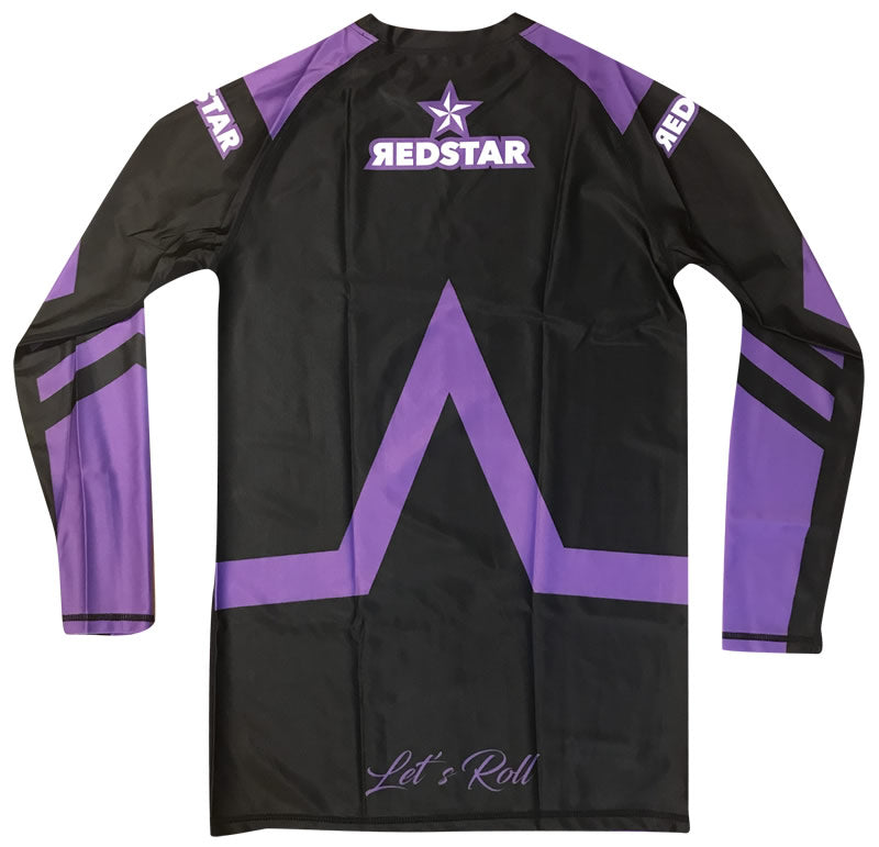 Rashguard Purple Belt Long Sleeve