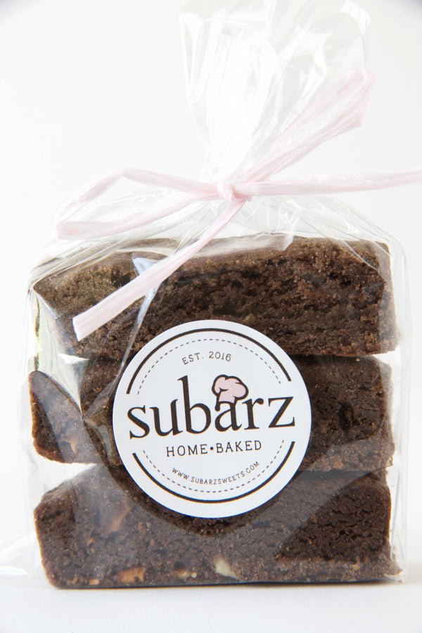 GLUTEN-FREE Double Chocolate Chip Almond Subarz