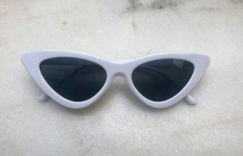 Audrey Sunglasses - White