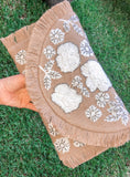 Bonita Embroidered Clutch