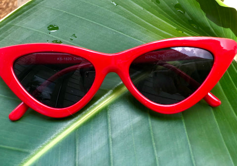 Audrey Sunglasses - Red