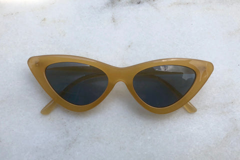 Audrey Sunglasses - Yellow