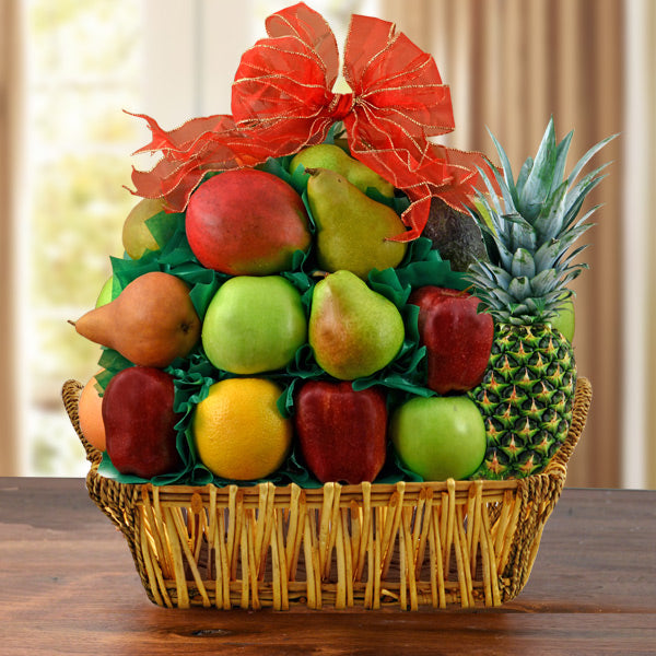 Fruit Lover's Gift Basket