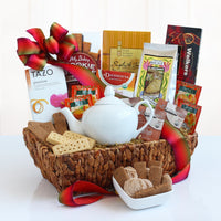 Ultimate Gourmet Tea Time Delights Gift Basket