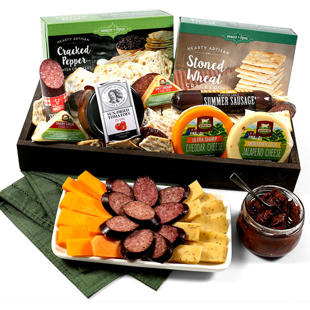 Meat & Cheese Deluxe Gourmet Sampler