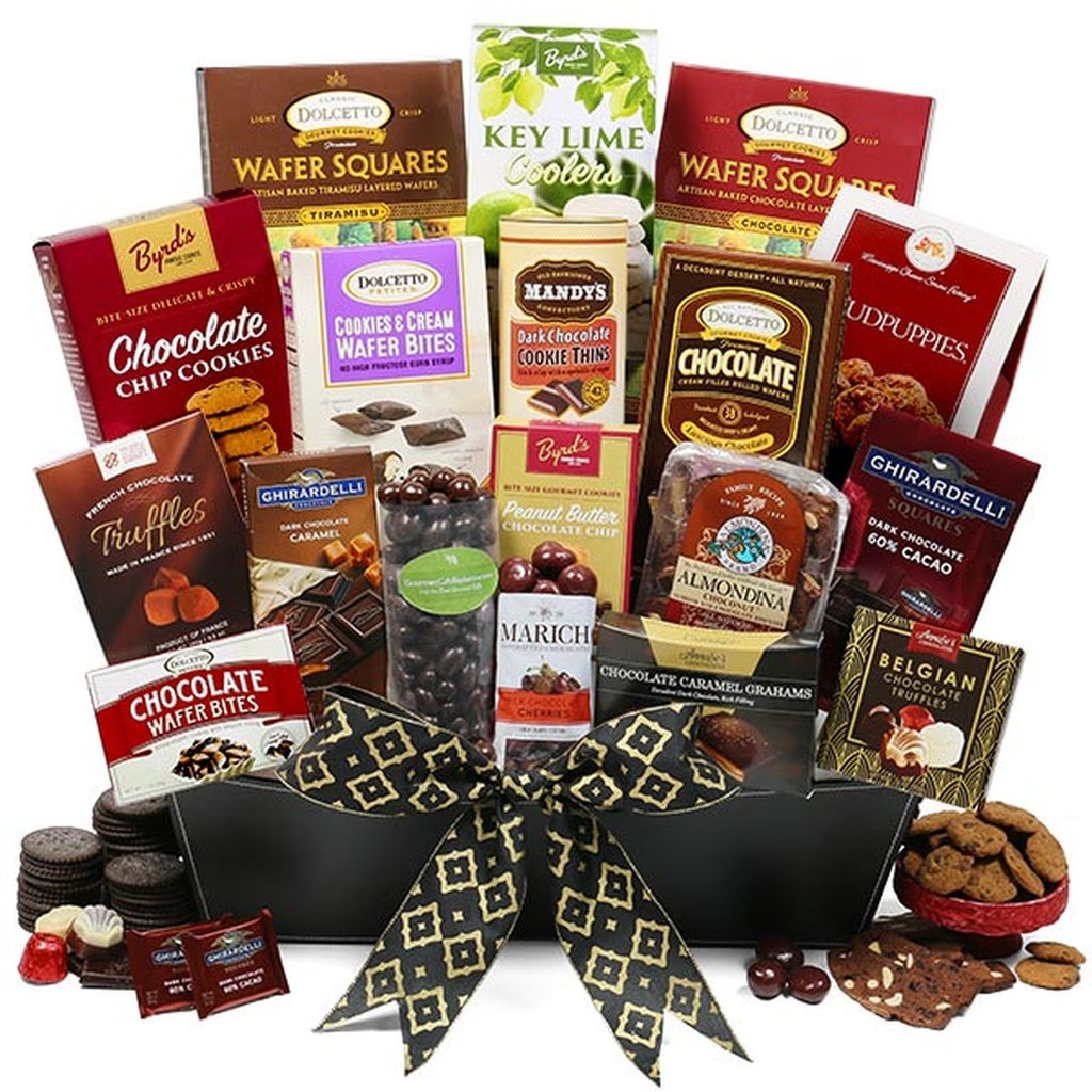 Holiday Deluxe Chocolate Gift Basket