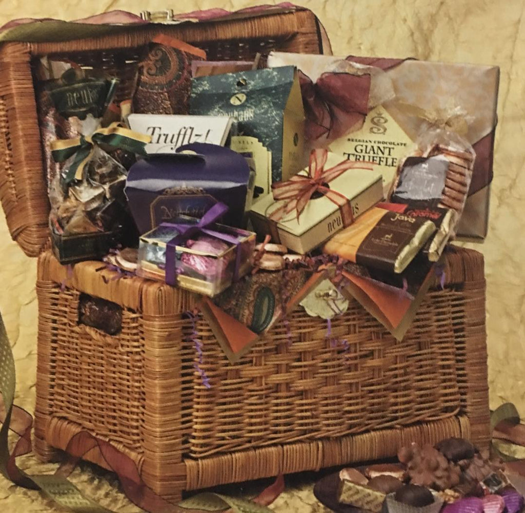 Chocolate Treasures Basketfull