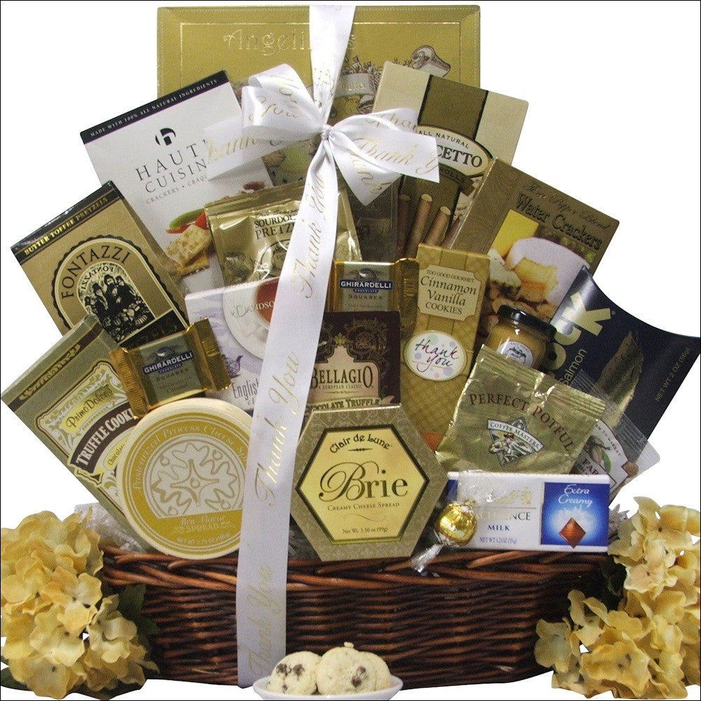Sincere Thanks Gourmet Gift Basket