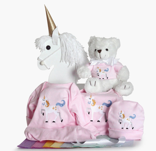 Magical Unicorn Gift Set for Baby Girls