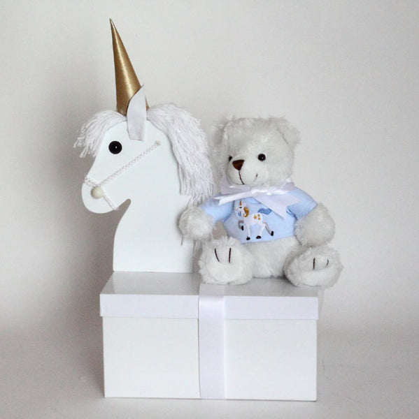 Magical Unicorn Gift Set for Baby Boys
