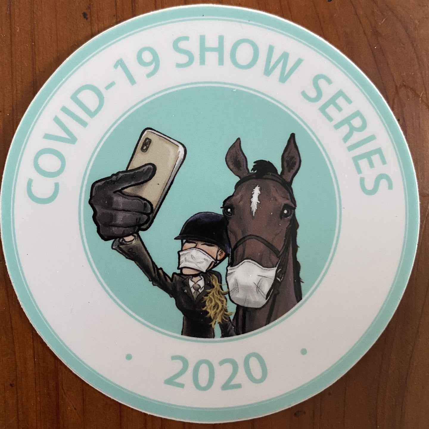 COVID-19 Show Series Sticker
