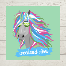 "Load image into Gallery viewer, ""Weekend Vibes"" Tank"