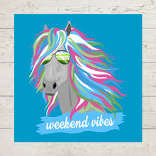 "Load image into Gallery viewer, ""Weekend Vibes"" Tee"