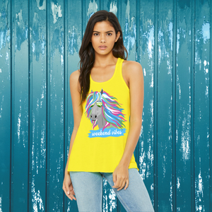 """Weekend Vibes"" Tank"