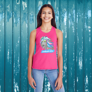 """Weekend Vibes""  Youth Tank"
