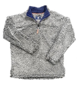 Southern Equestrian Sherpa Pullover