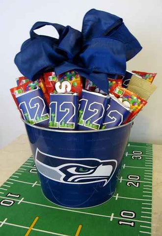 Go Hawks Gift Bucket (c) 2015 Heartwarming Treasures®