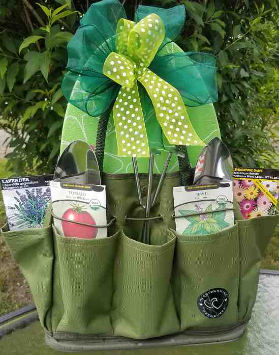 Garden Tool Tote (c) 2019 by Heartwarming Treasures®