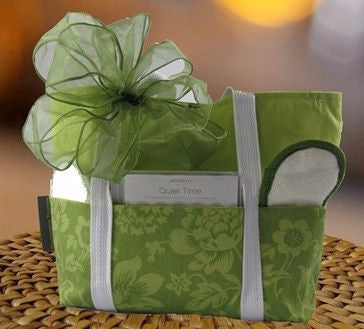 Green Spa Gift Bag (c) 2015 Heartwarming Treasures (R)