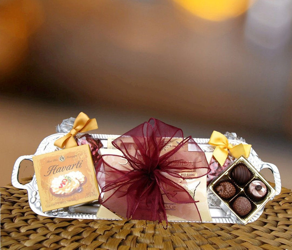 NW Vineyard Silver Tray Gift (c) 2015 Heartwarming Treasures®