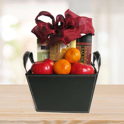 Salmon and Fruit Gift © 2021 by Heartwarming Treasures®