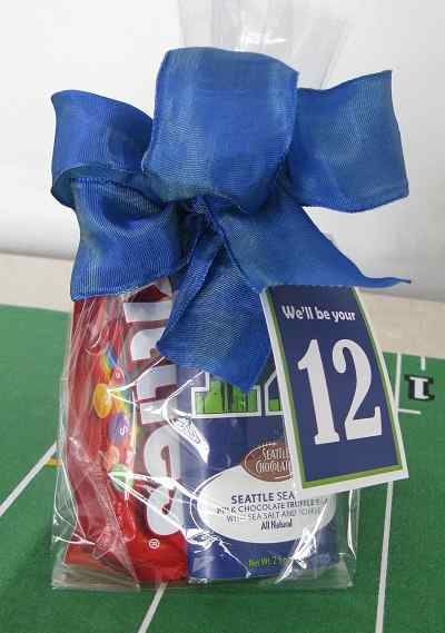 Go Hawks Gift Bag (c) 2015 Heartwarming Treasures®