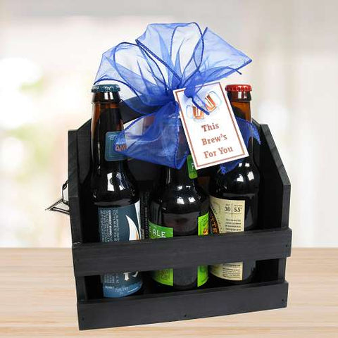 This Brews For You Beer Caddy Gift © 2021 by Heartwarming Treasures®