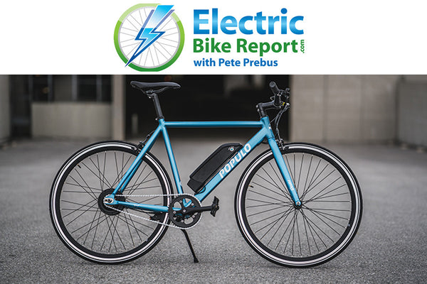Electric Bike Report's Populo Sport Review and Range Test