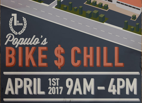 Populo's 1st Annual Bikes and Chill Warehouse Sale