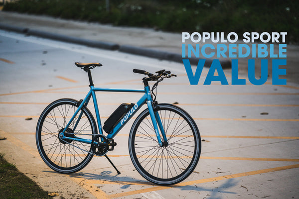 Populo Sport electric bicycle delivers incredible value