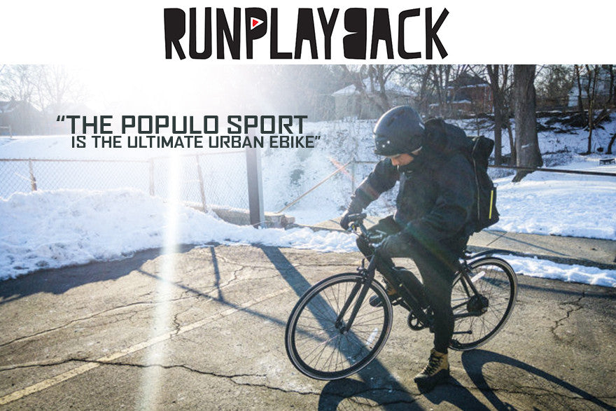 RunPlayBack Populo Sport Video Review