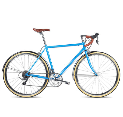 Populo Drive Mens 16-speed Classic Complete Road Bike