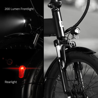 Populo Curve Foldable Electric Bicycle 2021