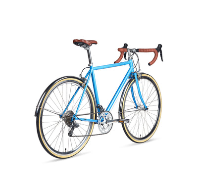 Populo Drive Mens 16-speed Classic Complete Road Bike - Populo Bikes