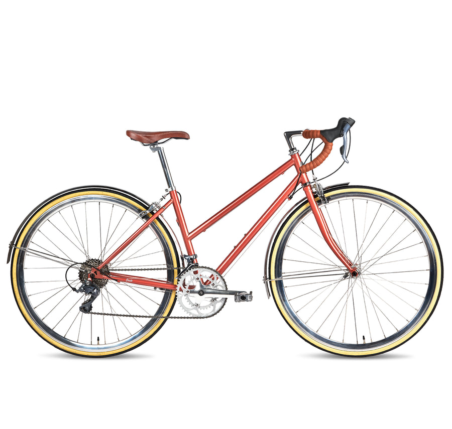 c920a0ed2bca36 Populo Route Womens 16-Speed Classic Complete Road Bike - Populo Bikes