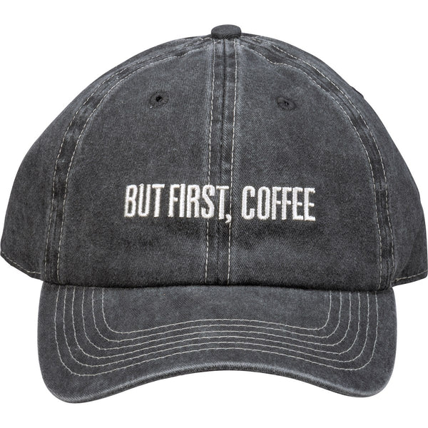Baseball Cap - But First Coffee