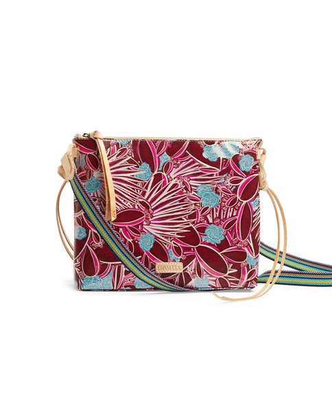 RED DOWNTOWN CROSSBODY