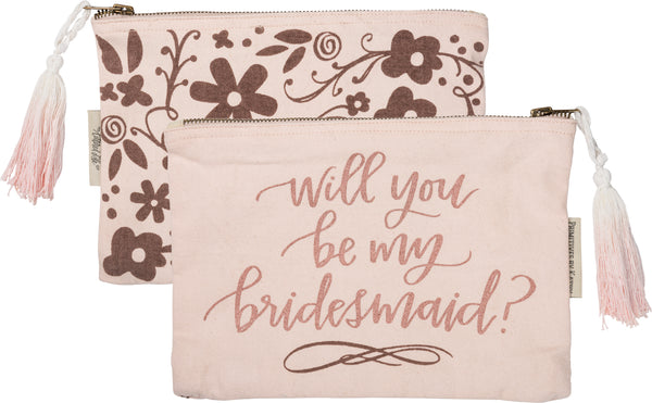 Zipper Pouch Bridesmaid