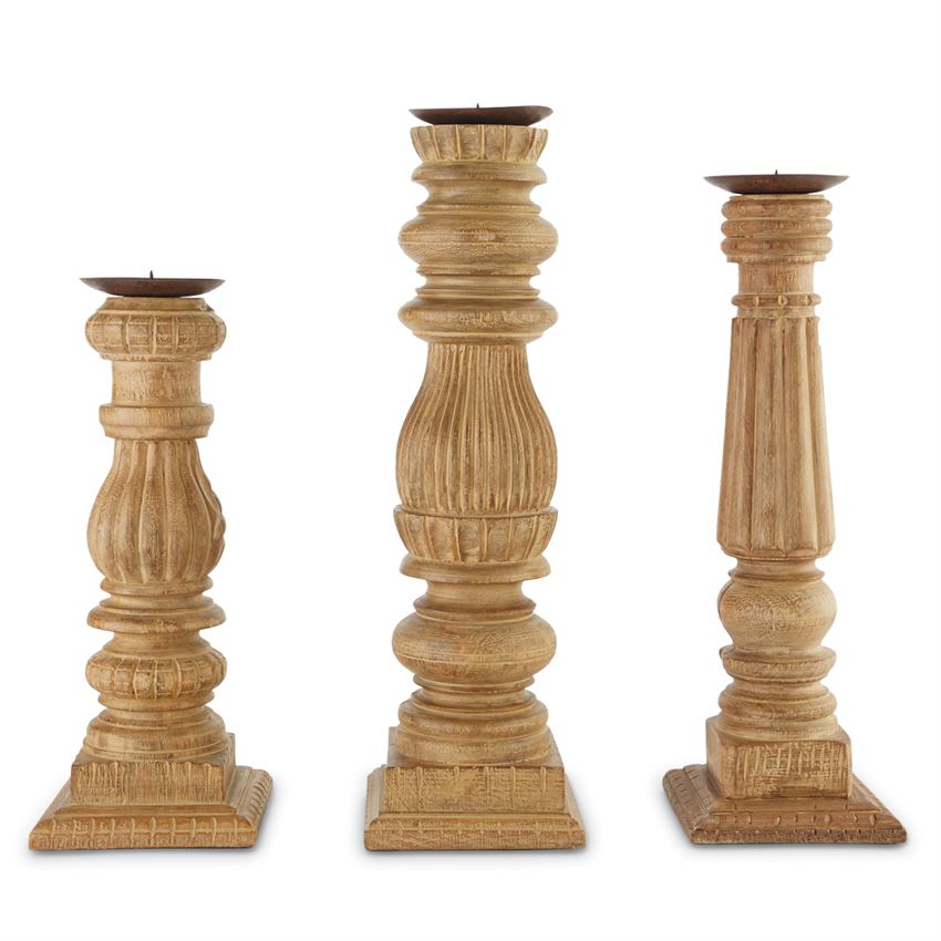 Baluster candlestick