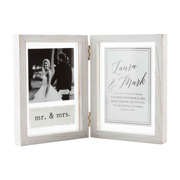 4x6 Hinged Wedding Frame