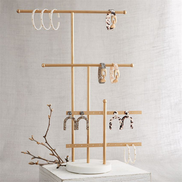 Gold Jewelry Displayer
