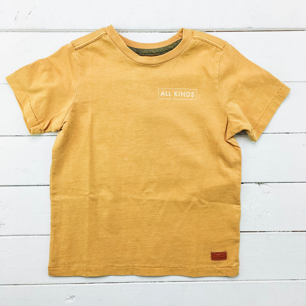All Kinds Mustard Tee
